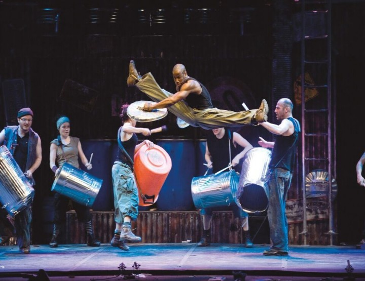 STOMP in tour in Germania