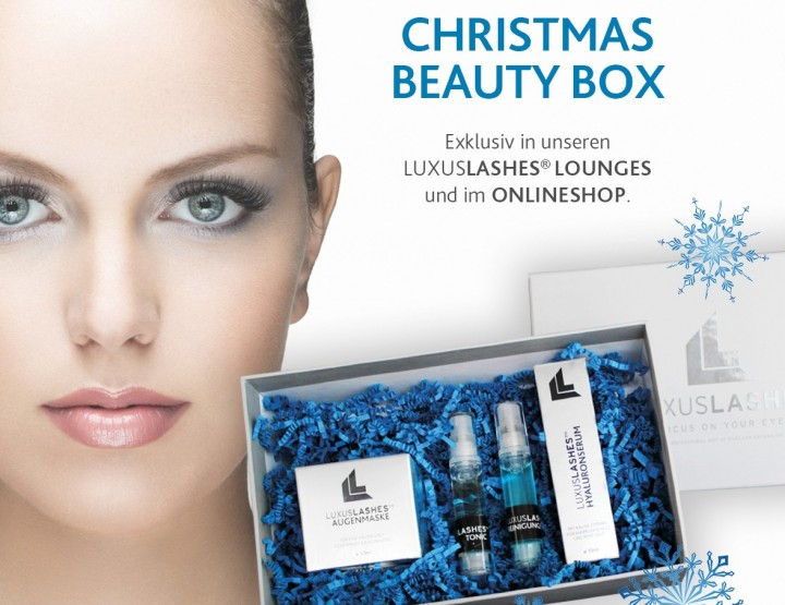 LUXUSLASHES Christmas Beauty Box