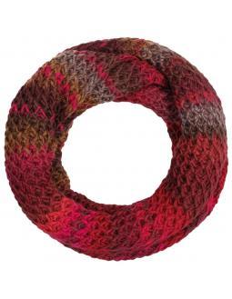Jasila Rundhals Schal in Pink by Lierys