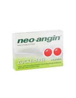 Zuckerfreien Neo-Angin Halstabletten