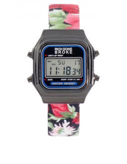 Blumenband Armbanduhr by Rich Gone Broke