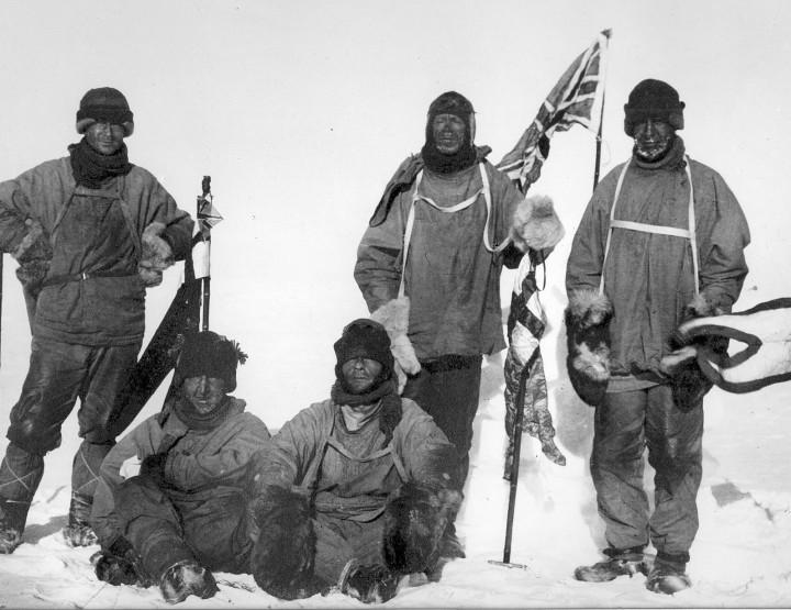 Das tragische Rennen zum Südpol