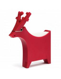 Red moose notes holder