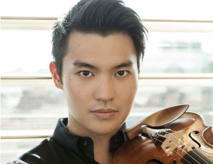 Die begnadeten Violonisten Ray Chen und Christoph Eschenbach