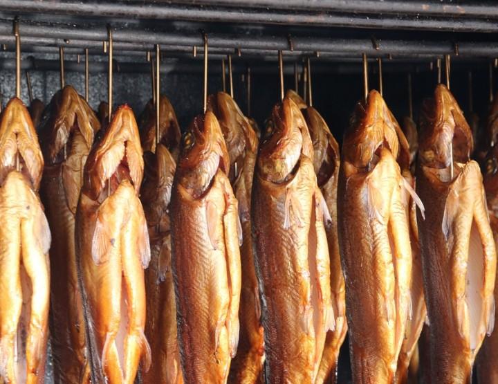 Traditionelle skandinavische Küche