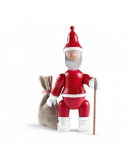 Buchenholz Weihnachtsmann by Kay Bojesen