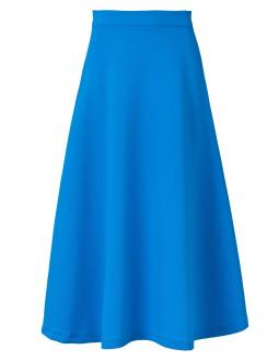 Blue midi skirt by Ana Alcazar