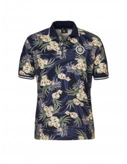 Floral polo shirt by Bogner