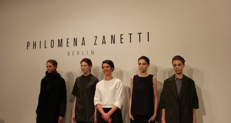 Elegante Geradlinigkeit bei Philomena Zanetti