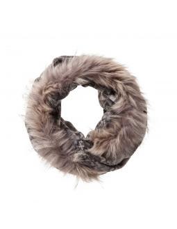 Modern Ethno Schal Fake Fur