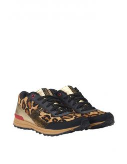 Leo-Print Sneakers by Sam Edelman