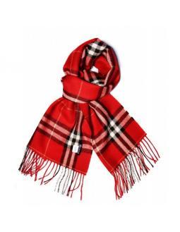 Accessoires: Schal mit schottischem Muster