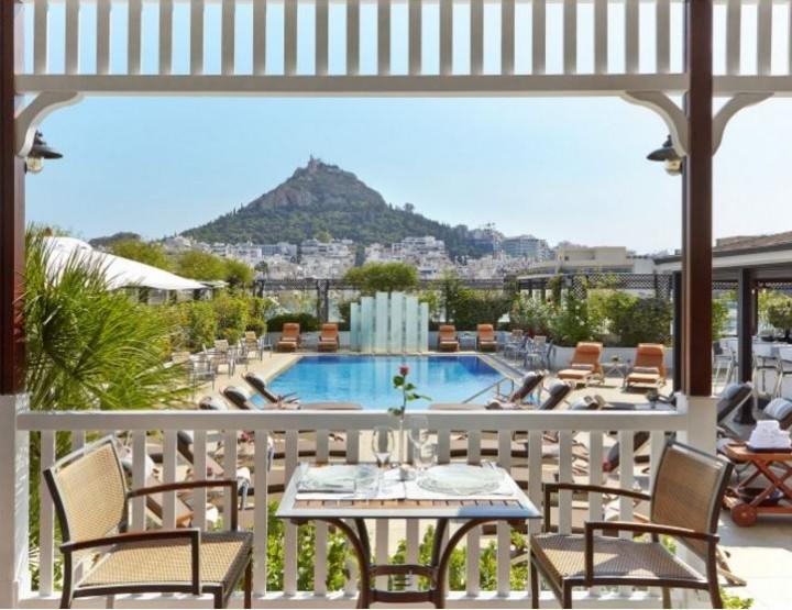 Luxus pur im Hotel Grande Bretagne in Athen