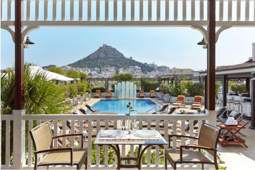 Luxus pur im Hotel Grande Bretagne in Athen  Read-The-Trieb