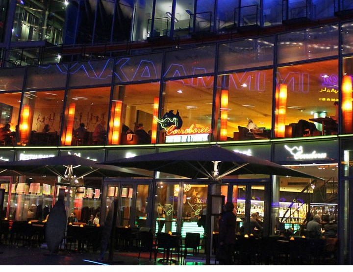 Corroboree Restaurant Berlin Sony Center