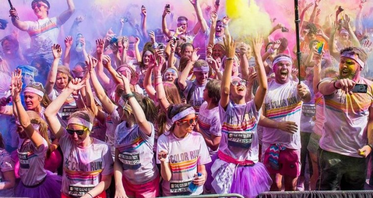 Color Run in Berlin