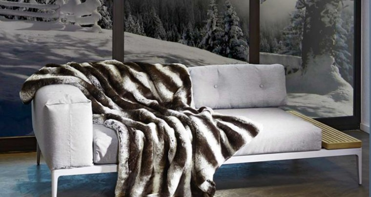 Luxurious Fake Fur Home Accessories by Carma