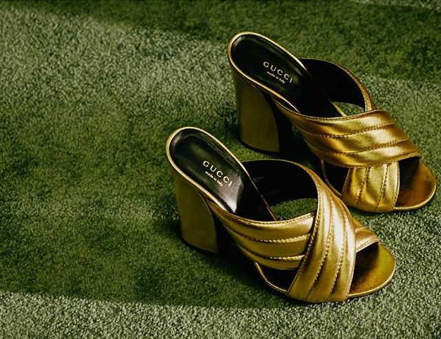 Shoes by Gucci