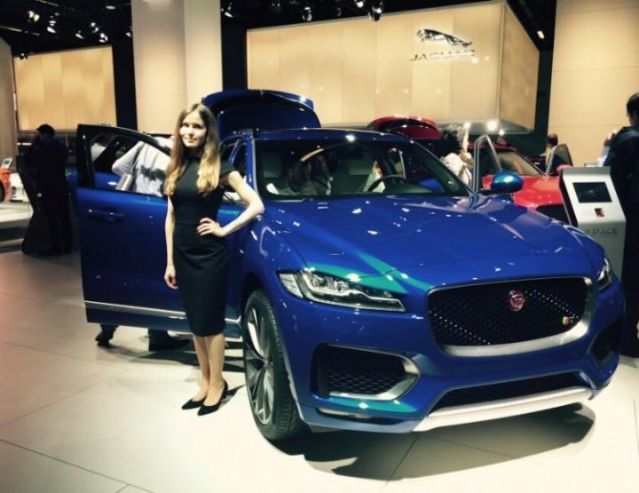 IAA 2015 - Luxusautomarke Jaguar stellt Rekord auf
