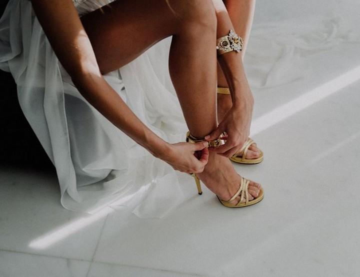 Pura López – Schuhe für die Braut
