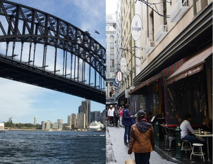 5 Features to show you whether you're a Sydneysider or Melbournian