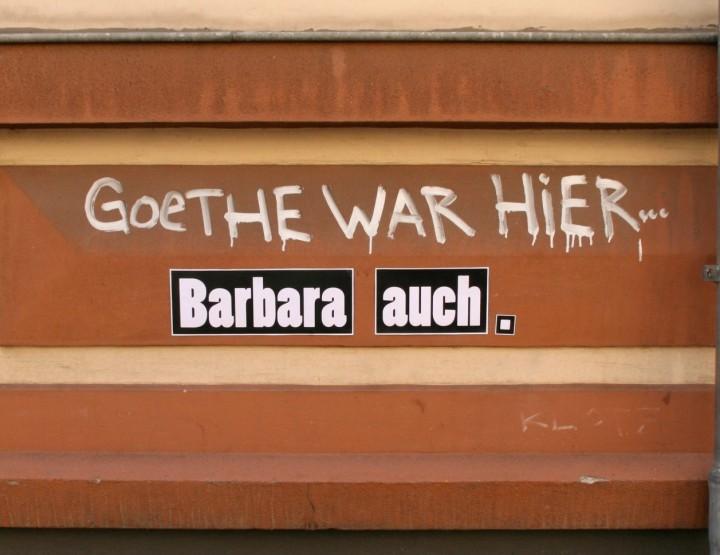 Street Art von Barbara