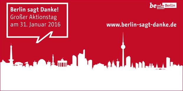 Berlin sagt Danke - Gratistag für Kunst und Kultur