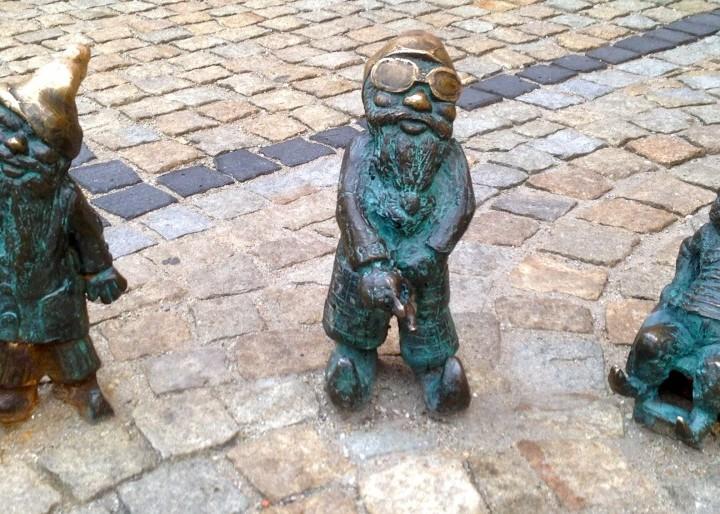 Die Zwergen warten auf dich in Breslau