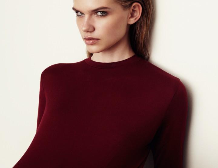Frisur Clothing: Minimalismus pur von der Frisur bis zum Hemd