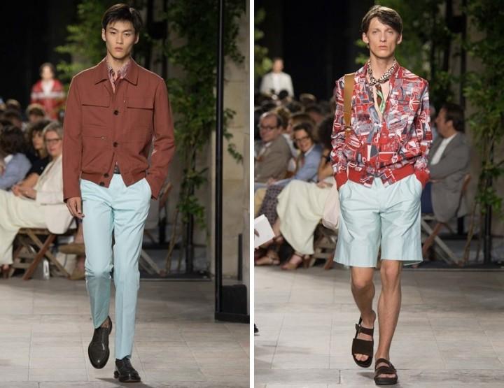 Hermès - Eklektische Männermode