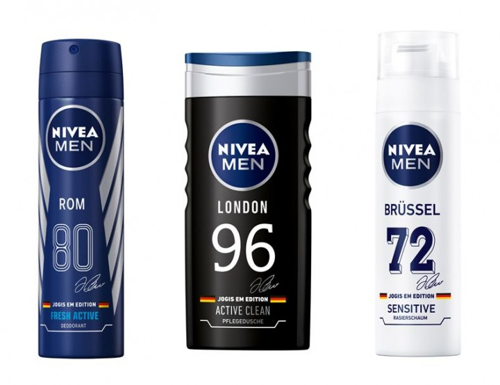 2016 UEFA Championshop Europeu: Nivea Men Edition limitata