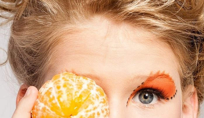Homemade Orange Face Mask to prevent Zits