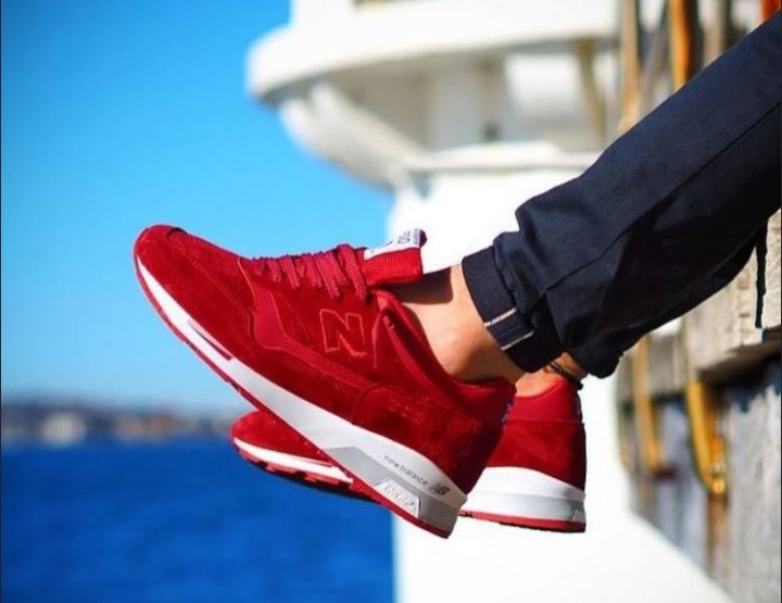 Trend: rote Sneaker