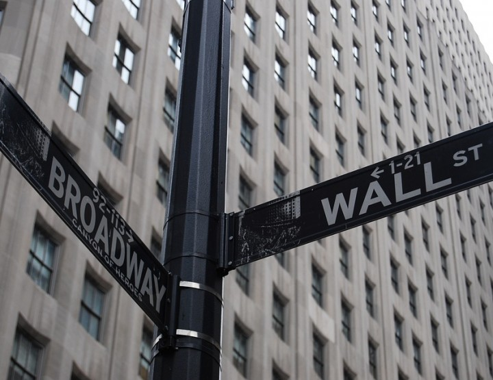 A vita solitaria di Stockbrokers di Wall Street