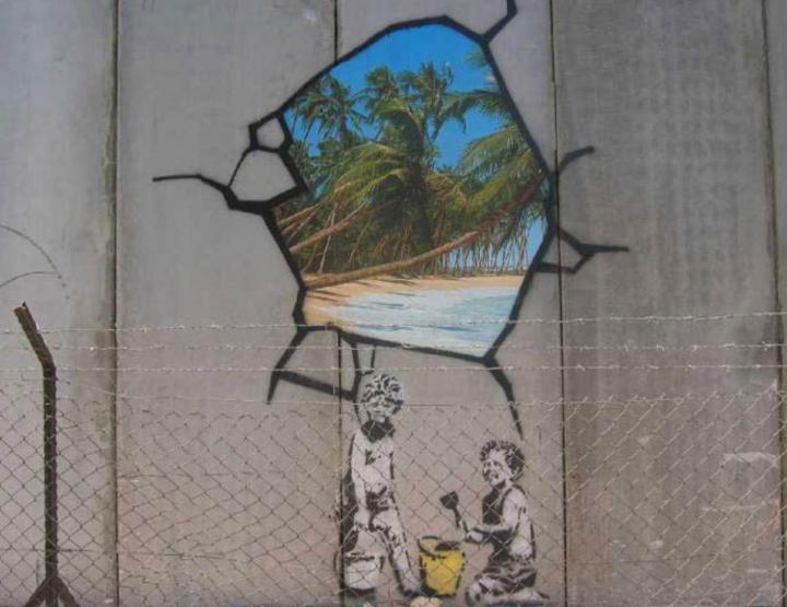 Bansky in Israel