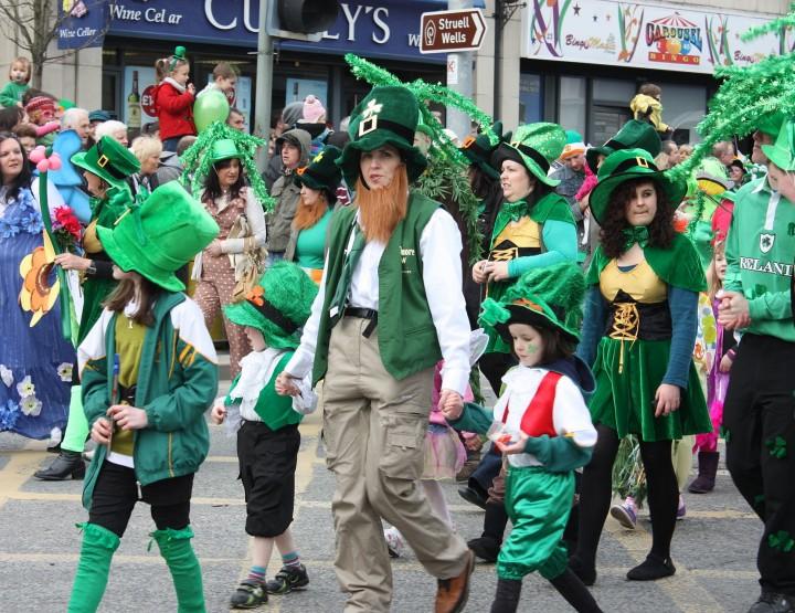 Why do the Irish celebrate St. Patrick's Day?