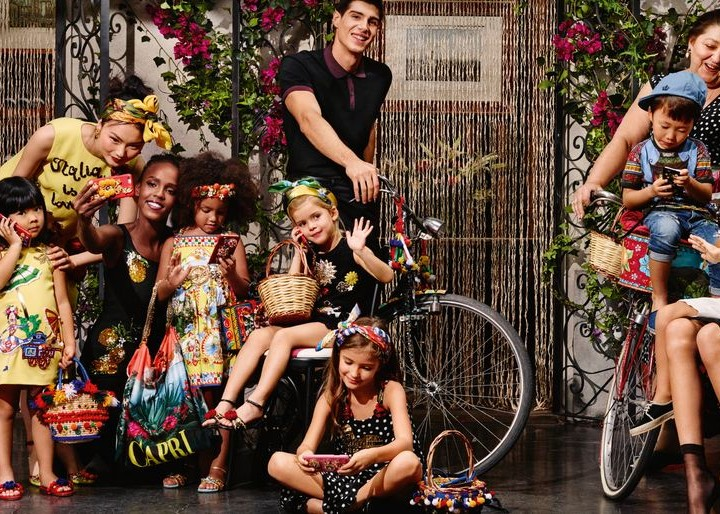 D&G - Sizilianische Extravaganz trifft auf Kindermode