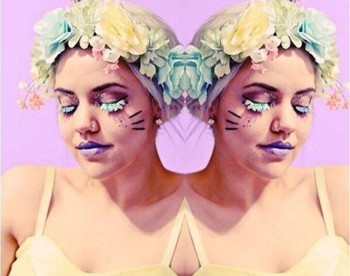 Die besten Ideen für ein Festival Makeup