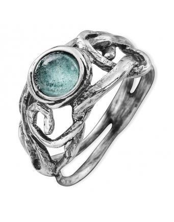 Ring Roman Glas