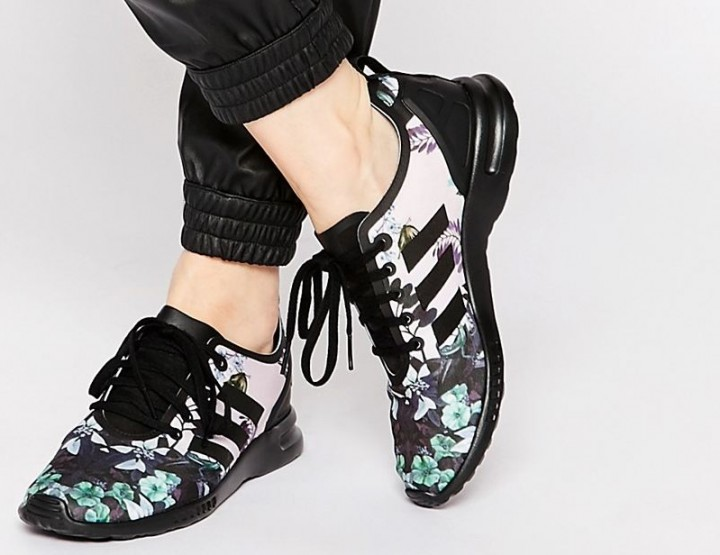 Fashion Trend 2016: Florale Sneakers