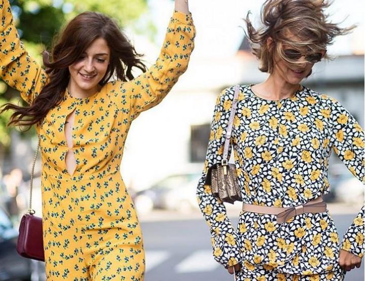 Die besten Flower Power Outfits auf Instagram