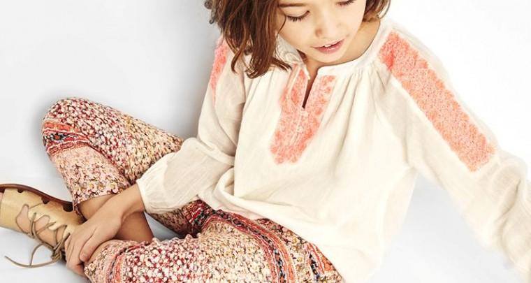 Zara Kids läutet einen romantischen Frühling ein