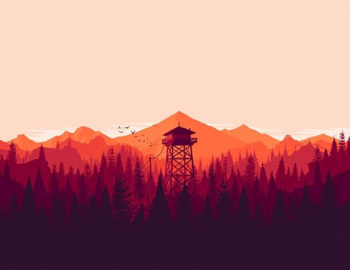 Gametipp: Firewatch - Der Mann und der Wald