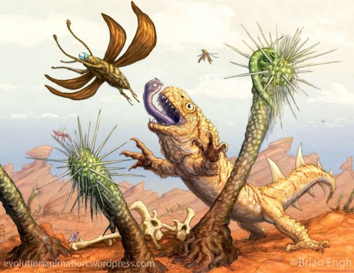 Evolution - Eine Website nach Darwins Regeln