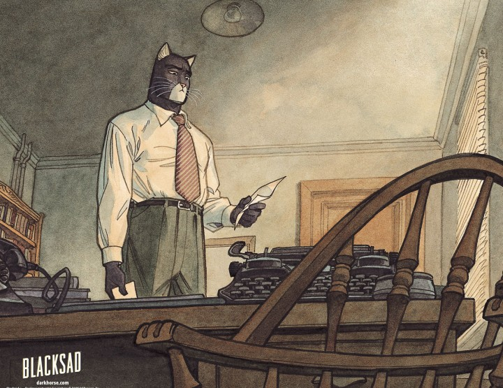 Blacksad - Grafic Novel Tipp