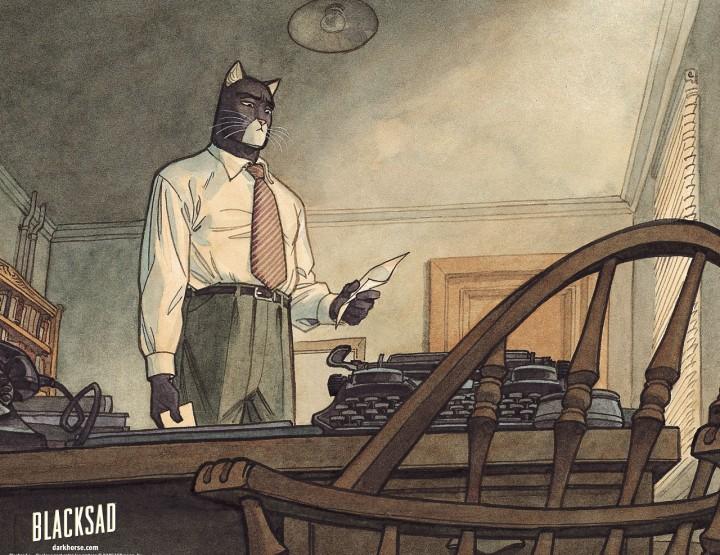 Blacksad - Grafic Novel Tipp