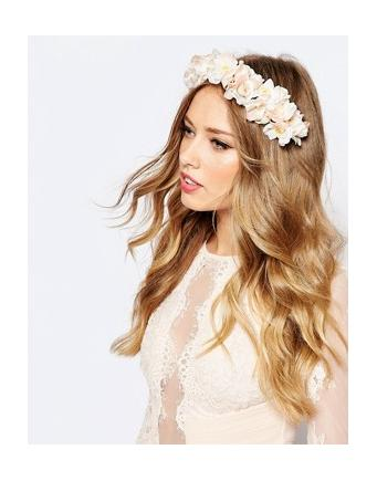 ASOS WEDDING - Blushing Flowers - Haarspange - Rosa