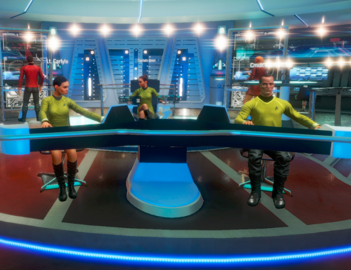 VR in Space - Star Trek: Bridge Crew