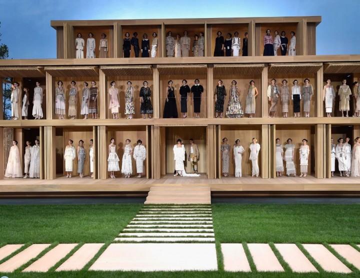 Chanels umweltfreundliches Couture Puppenhaus