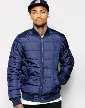 Carhartt - WIP Bryant - padded jacket - navy blue